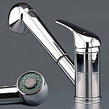Wasserhahn Küche Niederdruck Armatur Chrome Küchenarmatur W64
