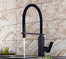 Wasserhahn Küche Pull-Down Küchenarmatur Quadrat
