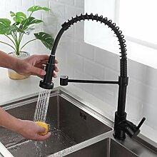 Wasserhahn Küche Schwarz - 360° schwenkbar mit