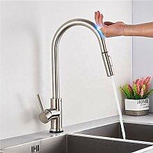 Wasserhahn Küche Sensor, Ausziehbar Wasserhahn