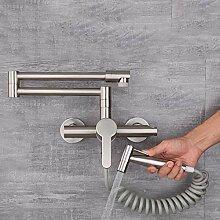 Wasserhahn Küche Wandmontage Wandanschluss