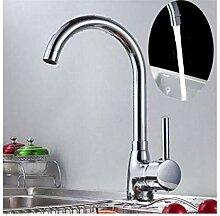 Wasserhahn Küche Waschbecken Massivem Messing