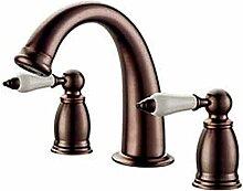 Wasserhahn Küchen Doppelgriffbecken mit