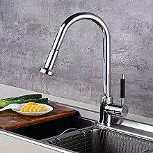 Wasserhahn Küchen Küche mit Duschmatte,