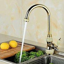 Wasserhahn Küchen Mit Marmor Küche Einhand Gold