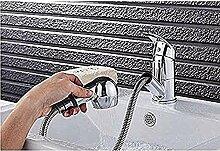 Wasserhahn Küchen Verchromter Einhandauszug mit