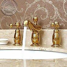 Wasserhahn Küchen Waschbecken mit zwei Griffen