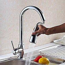 Wasserhahn Küchenarmatur 360 ° schwenkbare Feder
