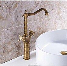 Wasserhahn Küchenarmatur Classic Antique Brass