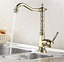 Wasserhahn Küchenarmatur Gold Fertig Messing