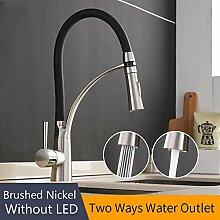Wasserhahn Küchenarmatur LED Küchenarmaturen mit