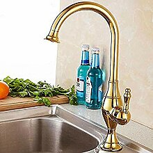 Wasserhahn Küchenarmatur mit Mischbatterie heiß