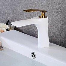 Wasserhahn Küchenarmatur Weiß mit
