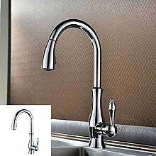 Wasserhahn Küchenarmaturen Gebürstetes Nickel
