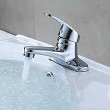 Wasserhahn Kupfer Chrom warmes und kaltes Becken