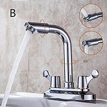 Wasserhahn Kupfer Hauptkörper Doppel