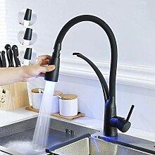 Wasserhahn LED-Küchenarmatur mit