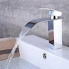 Wasserhahn,Luxus Wasserfall Arbeitsplatte Bad