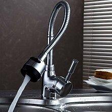 Wasserhahn,Massivem Messing Küchenarmatur