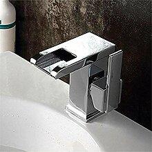 Wasserhahn Messing heißen und kalten Waschbecken