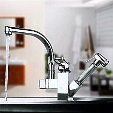 Wasserhahn Messing Küchenarmatur Waschbecken