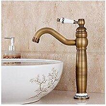 Wasserhahn Messing-Waschbecken-Mischbatterie Mit