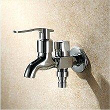Wasserhahn Messing Waschmaschine Wasserhahn Doppel