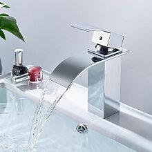 Wasserhahn Mischbatterie für Waschbecken Bad