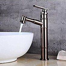 Wasserhahn mit Dusche im Badezimmer Bad