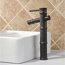 Wasserhahn mit ölimprägniertem Bronzegriff Bad