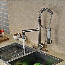 Wasserhahn Moderne Nickel Gebürstet