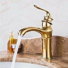Wasserhahn,Neue Gold Einzigen Handgriff