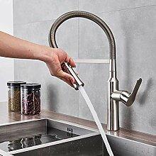 Wasserhahn Nickel Chrom Frühling Küchenarmatur