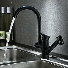 Wasserhahn Schwarz herausziehen Küchenarmatur