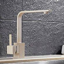Wasserhahn Schwarz Küchenarmatur mit Deck