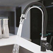 Wasserhahn Schwarz Mit Chrom Küchenarmatur Filter