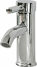 Wasserhahn Silber Verchromtes Metall