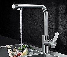 Wasserhahn Tap Edelstahl kaltes Trinkwasser