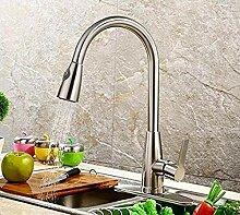 Wasserhahn Tap Einhand-Küchenarmatur herausziehen