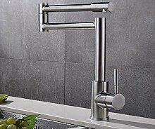 Wasserhahn Waschbecken 304 Küchenarmatur Heiße
