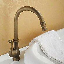 Wasserhahn/Waschbecken, Antikes Weinglas,