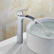 Wasserhahn Waschbecken Armaturen Wasserfall Bad
