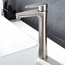 Wasserhahn Waschbecken Beckenhahn 304 Edelstahl