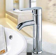 Wasserhahn Waschbecken Beckenhahn Heißes Und