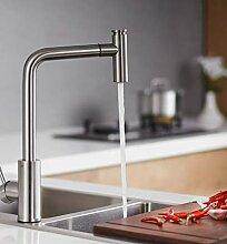 Wasserhahn Waschbecken Küchenarmatur Heißer Und