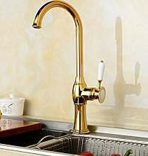 Wasserhahn Waschbecken Küchenarmatur Messing