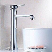 Wasserhahn Waschbecken Messing elegante