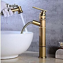 Wasserhahn Waschbecken mit Handbrause Abnehmbarer
