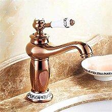 Wasserhahn Waschbecken Mixer Antik Bronze Finish