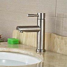 Wasserhahn Waschbecken Mixer Chrom poliert Deck